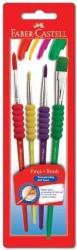 Faber Castell - Faber-Castell Soft Touch Fırça 4'lü