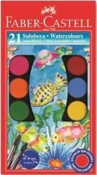 Faber Castell - Faber-Castell Suluboya 21 Renk Büyük Boy