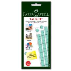Faber Castell - Faber-Castell Tack-it Yeşil 75gr.