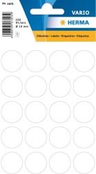 Herma - Herma Vario Yuvarlak Etiket 19mm Beyaz