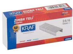 Kraf - Kraf 235G Zımba Teli No:24/6 1000 li