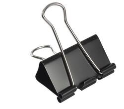 Kraf - Kraf 441G Çelik Kıskaç Siyah 41mm 12li