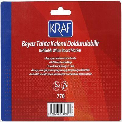 Kraf 770-4 Beyaz Tahta Kalemi Doldurulabilir 4'lü