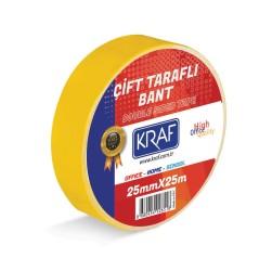 Kraf - Kraf Çift Taraflı Bant 25mmx25mt