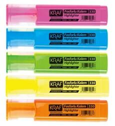 Kraf - Kraf Fosforlu Kalem 5 li