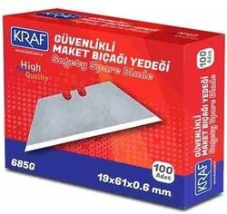 Kraf - Kraf İş Güvenliği Maket Bıçağı Yedeği - 100 lük Paket