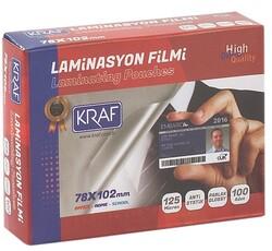 Kraf - Kraf Laminasyon Filmi Parlak 78x102 125Mic 100 Lük
