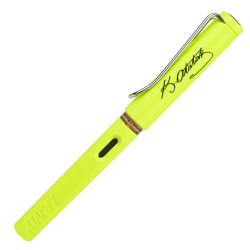 Lamy - Lamy Safari Dolma Kalem Atatürk İmzalı Neon Limon Yeşili M Uç