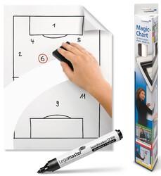 Legamaster - Legamaster Magic-Chart Düz Flipchart Kağıdı Rulo 60x80cm 25 Yaprak