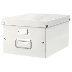 Leitz - Leitz Click & Store Orta Boy Kutu Metalik Beyaz