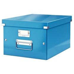 Leitz - Leitz Click & Store Orta Boy Kutu Metalik Mavi