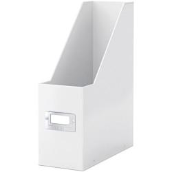 Leitz - Leitz WOW Kutu Klasör Metalik Beyaz