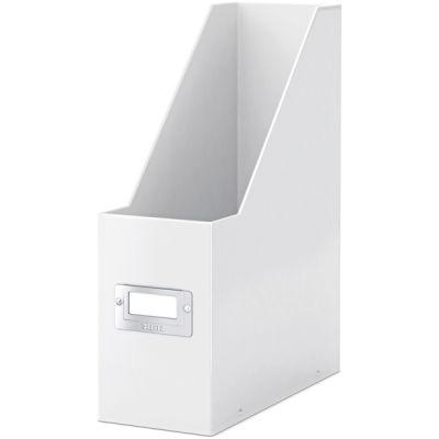 Leitz WOW Kutu Klasör Metalik Beyaz