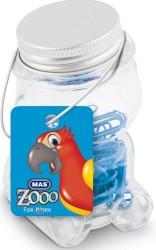 Mas - Mas Zoo - Cam Kavanozda Plastik Kaplı Atas - No:2 - Mavi
