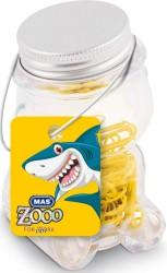 Mas - Mas Zoo - Cam Kavanozda Plastik Kaplı Atas - No:2 - Sarı