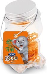 Mas - Mas Zoo - Cam Kavanozda Plastik Kaplı Atas - No:2 - Turuncu