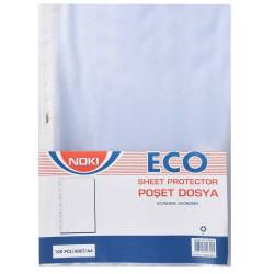 Noki - Noki Eco Poşet Dosya 100'lük