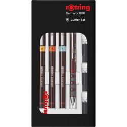 Rotring - Rotring İsograph Set (0.2-0.4-0.6)+Tikky 0.5