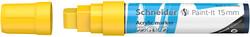 Schneider - Schneider 330 Akrilik Marker 15mm Sarı