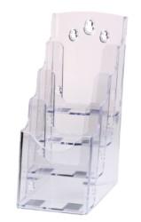 Serve - Serve Broşür Standı (4 Katlı 10x15)