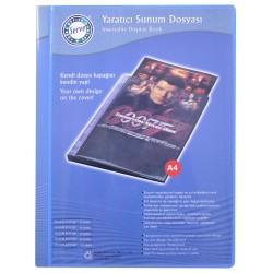 Serve - Serve Sunum Dosyası 10'lu Mavi
