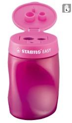 Stabilo - Stabilo Easysharpener Kalemtıraş Pembe - Sol El (3 delikli&hazneli)