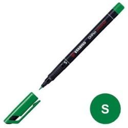 Stabilo - Stabilo OHpen Permanent (S) 0.4mm - Yeşil