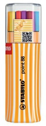 Stabilo - Stabilo Point 88 Twin Pack 20 Renk