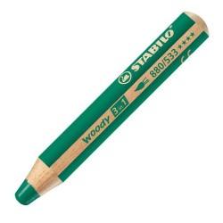 Stabilo - Stabilo Woody 3 in 1 - Yeşil
