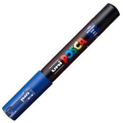 Uni-Ball - Uni PC-1M Posca Renkli Poster Markörü (0.7 mm) Mavi