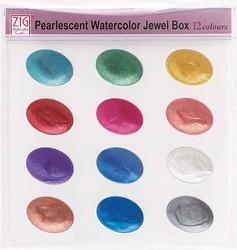 Zig - Zig Suluboya Pigment Jewel Box WSKG204-5 12 Renk